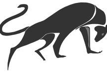 Logo Gym Boxe Loisirs / Logotype Typographie Design Gym Boxe Loisirs