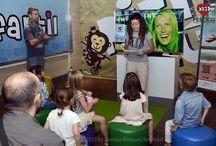 Taller de Cine Infantil / Sesión especial de Cine Infantil realizado en colaboración con El Corte Inglés - Hipercor Guadalajara. Fecha: 26/09/2015. Fotos: Gemma Mínguez/InnovArt.