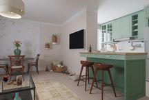 Cocinas / Kitchen - interior 3D design