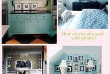 photo walls + displays