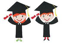 Graduation Embroidery Designs
