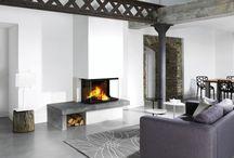 Décoration insert cheminée
