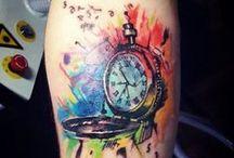 Watercolour Tattoo Sleeve