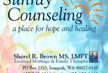 Sunray Counseling / If you're tired of the same old fight, call me for Couples Counseling in Issaquah, WA 425 652-1413  Licensed Marriage & Family Therapist in Washington State  www.SunrayCounseling.com