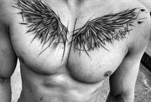Sketch style tattos