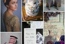 2016 Wedding Color Inspiration / Wedding color schemes based on Pantone 2016 Color Trends