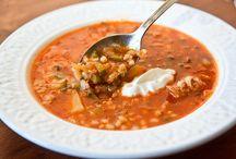 первые блюда-супы,щи...