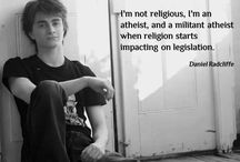 Atheist & all things good. / Leave your bigotry at the door.
