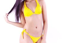 Summer 2015 : Vibrant Colors / Swimwear/Bikinis / One of the biggest trends of 2014/2015.