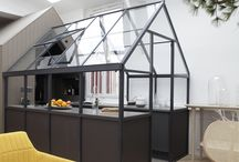 Kitchen  / Inventive use of space