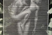 Portrait / Striped portrait