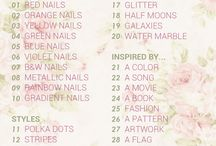 31DC2016 theCieniu nail art / 31 day nail art challenge - my prompts an inspirations