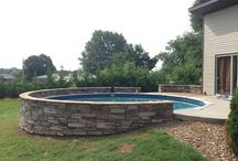 pool and landscaping / by Sharon Davidson-Rash