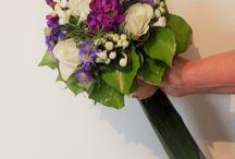 Mariage Éloïse & David / Mariage ayant pour thème les couleurs blanc et violet.