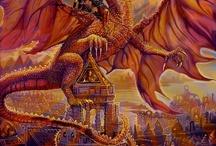 Red dragon / Fantasy