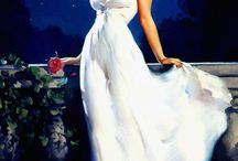 Classic Pinup Art / Classic pinup art by vintage artists