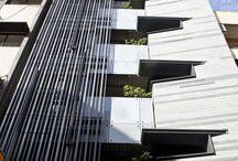 Edifícios / Contemporâneos | Materiais | Fachadas