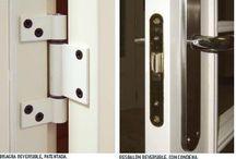 Herrajes para puertas y ventanas de madera. Socios de AITIM