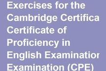 English exams