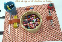 Talleres en La Kraftería / Las fotos de los talleres realizados en La Kraftería de Corazón, en Bilbao. Tienda de artesanía textil en el corazón de la ciudad, donde también puedes encontrar increibles talleres creativos, materiales y libros.