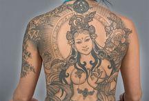 Goddess back