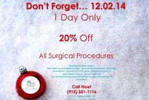 December 2014 Promotions!