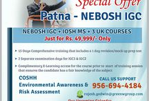 Green World Group - Patna / Green World Group provides excellent offer for Nebosh course in Patna with IOSH MS and get 3 UK certificates at free of cost. GWG is the biggest safety training institute in across the globe and conducting the UK approved HSE Nebosh certificate courses. Contact: Mr. Rajesh Godwin - 9566944184. http://www.greenwgroup.com/training-courses/nebosh
