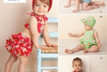 Vintage Baby/Toddler clothing patterns / Patterns and inspirational pictures for vintage clothing (Babies/Toddlers)