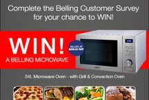 Belling Promotions / The latest promotions from Belling Australia. Tons of giveaways ahead!