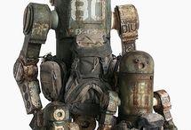gorgeous robots