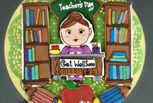 Пряники для учителей.