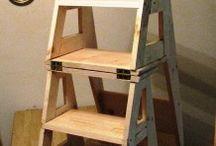 židle-schůdky