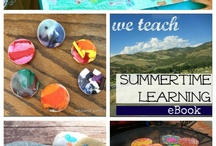 the best summer learning ideas  / the BEST ideas for sneaky, fun summer learning, straight from the 2013 summertime learning eBook, free for all members of #weteach (http://weteachgroup.com) | math, literacy, science, crafts, recipes, play, and more  / by amy mascott @teachmama