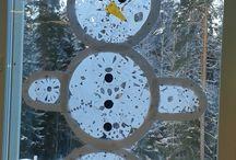 Käsityöt ja askartelu/lumiukko