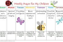 Prayer calender