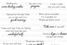 Sentiments & Sayings