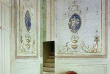 Декоративные росписи стен