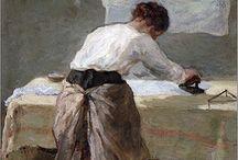 Huishouden - wassen en strijken
