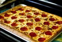 Pan pizza dough