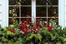 Fensterbank Winter