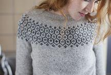 Strikkagenser - knitted sweaters
