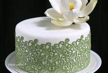Encaje de azúcar / Descubre ideas e inspiración para usar tus moldes de encaje de azúcar o sugar lace.