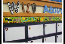 WALL DISPLAY - Word Walls / by Clutter-Free Classroom