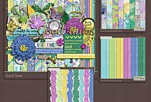 {Good Times} Digital Scrapbook Kit by Pixelily Designs