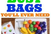 PROJECTS | busy bags + quiet play