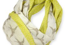 Summer Scarves / The perfect accessory. The right color. The right weight.