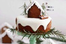 x mas cakes