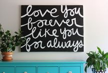 DIY ideas & Helpful tips / Fun home DIY ideas that I am dying to try!! / by Lauren Matthews