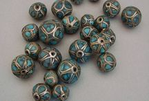 Beautiful Vintage Beads, Buttons and Findings Supplies / Vintage Supplies for Jewelry Making or Restoration