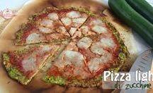 pizze light veg